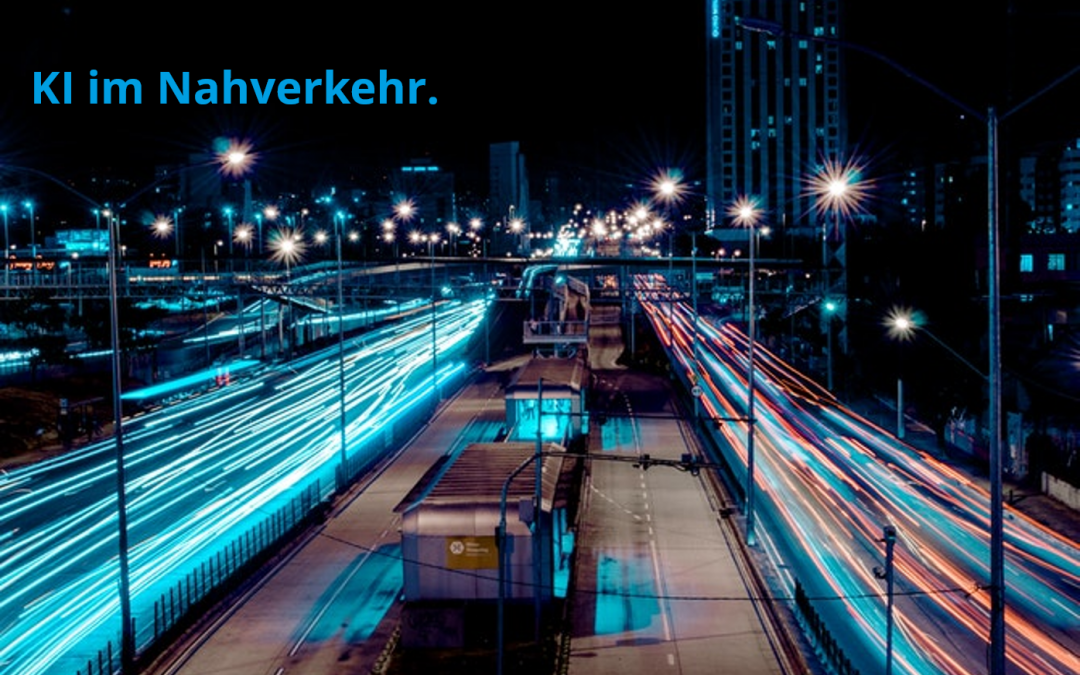 AI in local transport – a vision of the future